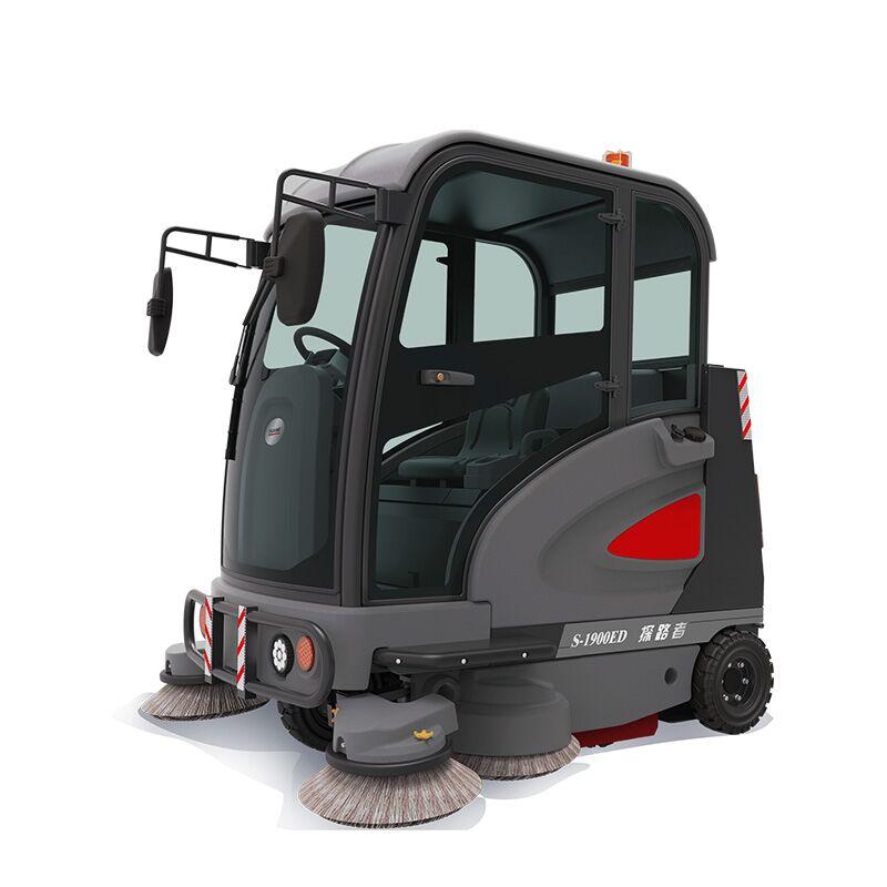 高美智慧型驾驶式万博电脑网页版登录_探路者驾驶式扫地车S-1900ED