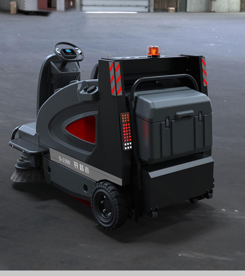 高美驾驶室扫地车
