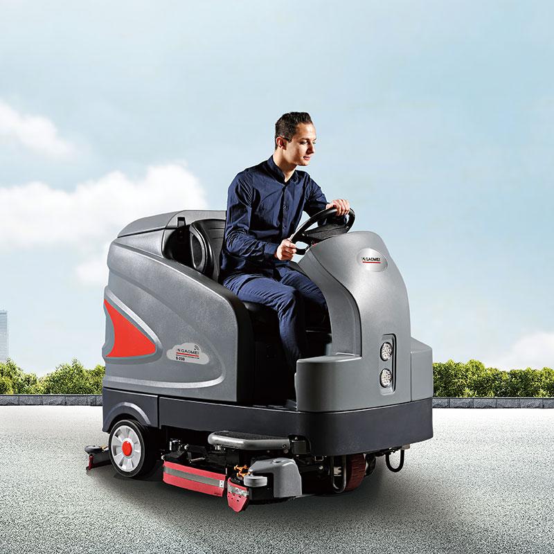 高美驾驶式新版亚博体育app下载_驾驶式洗地车S-230