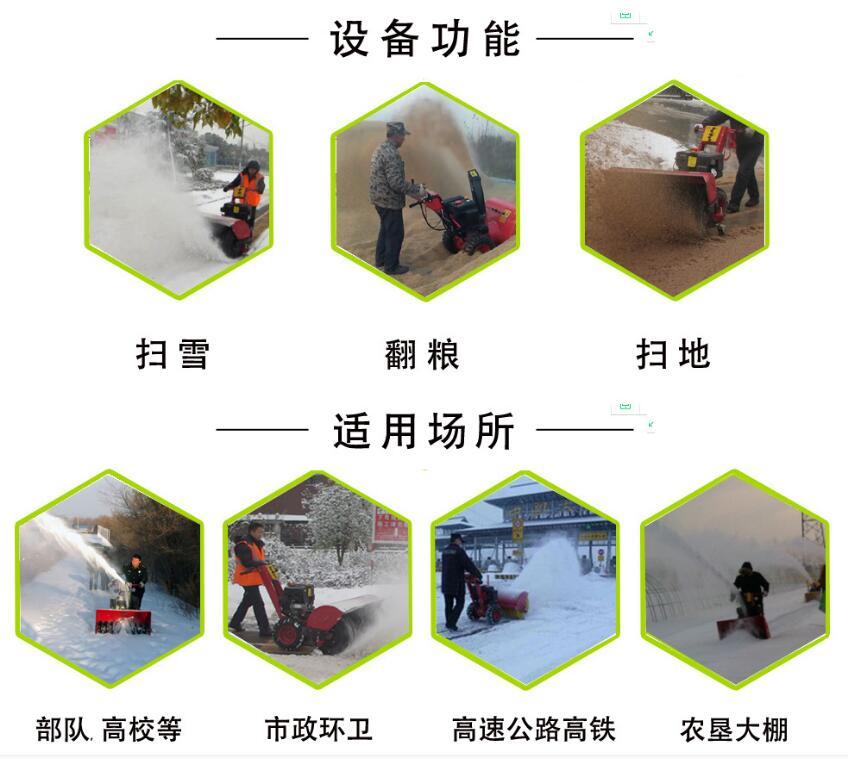 清雪设备功能-使用场所